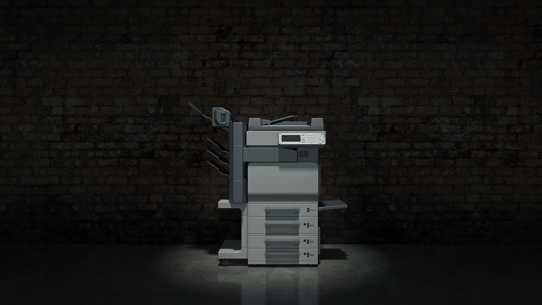 Printer-In-Dark-Room
