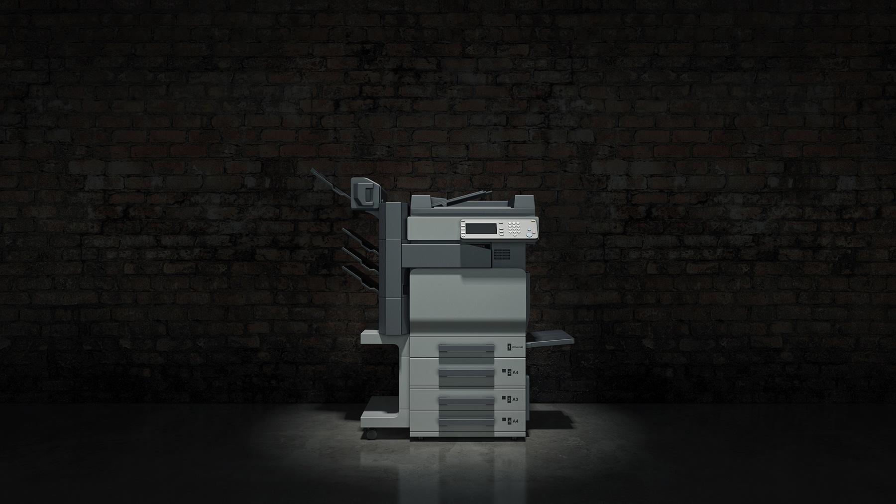Printer-In-Dark-Room